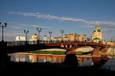 Пешеходный мостик.  Йошкар-Ола