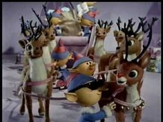 Vintage Christmas Television ~ Rudolph The Red-Nosed Reindeer * Holly Jolly Christmas