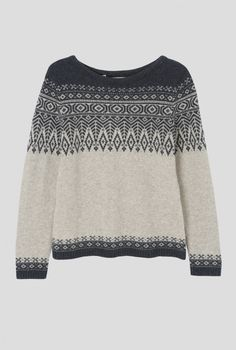 Trellis Jumper, color and placement inspiration Norwegian Knitting, Fair Isle Pattern, Catwalk Fashion, Fair Isle Knitting, Cardigan, Knit Fashion, Knitting Stitches, Passion For Fashion, Knitwear