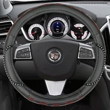 Cute Girly Rhinestone Steering Wheel Cover Bling Car Accessories TPE Leather