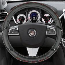 Steering Wheel Cover W Bling Black Beige Or Hot Pink