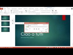 Aggiungere Musica in PowerPoint - Video Guida Computers, Software, Dads, Meet, Youtube, Tecnologia, Musica, Fathers, Youtubers