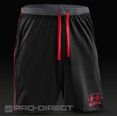 Under Armour Football Clothing - Under Armour EU Cotton Shorts - Black