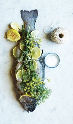 Lemon and salt fish whole fish recipe