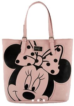 Disney Boutique Tote Bag - Minnie Mouse Face with Coin Purse