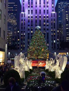 New York City Feelings - 30 Rock Tree by @beesbudoir #nyc