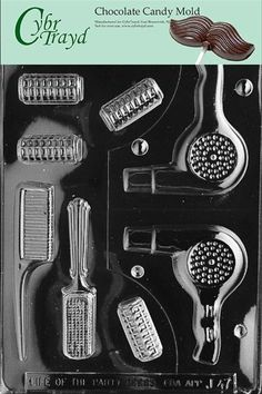 Cybrtrayd J047 Beautician Jobs Chocolate Candy Mold ** Learn more by visiting the image link.(This is an Amazon affiliate link and I receive a commission for the sales) #CandyMakingAccessories