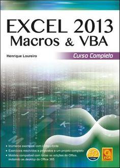 Excel 2013 Macros & VBA C Completo