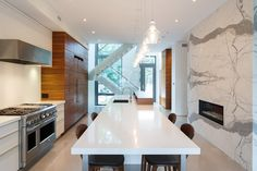 Modern home design by Flynn Architects. Located in Old Ottawa East.