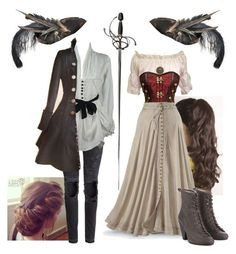 Pretty Outfits, Cool Outfits, Fashion Outfits, Narnia, Mode Pirate, Pirate Outfits, Pirate Clothes, Warrior Outfit, Jugend Mode Outfits