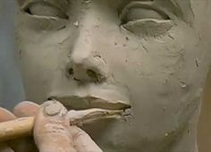Ceramic Arts Daily – From Sad to Happy in Four Minutes: A Quick Course in Changing Facial Expressions in Figurative Ceramic Sculpture Pottery Sculpture, Sculpture Clay, Art Clay, Ceramic Arts Daily, Sculpting Tutorials, Sculpture Techniques, Sculptures Céramiques, Pottery Techniques, Ceramic Techniques