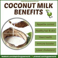 Health benefits of almond coconut milk