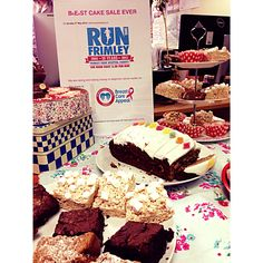 Cake sale today at our head office for the Breast Care Appeal at Frimley Park Hospital, we're proudly raising money for a great cause! #Charity #Leightons #Eyewear #Baking #Cakes #Cupcakes