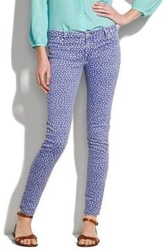 Spot the Real: Madewell Polka Dot Skinny Jeans - The Budget Babe