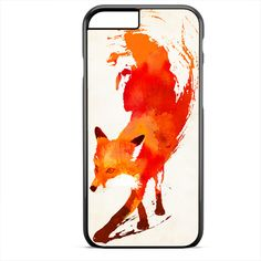 Fox Fire Painting Apple Phonecase For Iphone 4/4S Iphone 5/5S Iphone 5C Iphone 6 Iphone 6S Iphone 6 Plus Iphone 6S Plus