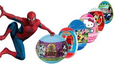 Kinder Surprise Surprise eggs Mickey Mouse Minnie Mouse Spiderman Hello ...