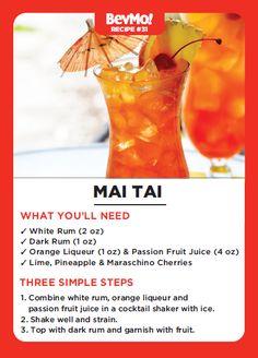 Recipe #31 - Mai Tai