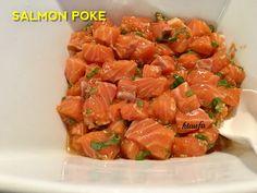 Delicious Salmon Poke. A favourite Island Dish!!!