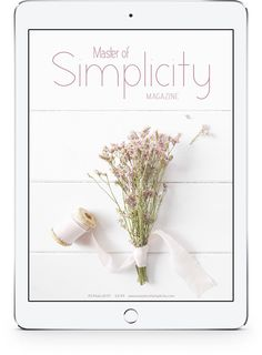 Master of Simplicity Magazine Discount Coupons, Simple Living, Magazine Covers, Hygge, Sustainability, Healthy Lifestyle, Place Card Holders, Wellness, News