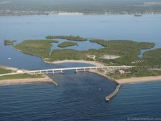 Sebastian Inlet, a prime fishing, boating, surfing, and just general recreation area in Indian River/Brevard County.