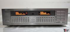 Yamaha Equalizer Photo - US Audio Mart Yamaha Audio, Concept Phones, Speaker Amplifier, Recording Studio Design, Home Studio Music, Audio Sound, Dj Equipment, High End Audio, Hifi Audio