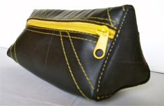 Cosmetic Bag Beauty made Rubber Tyres Inner Tubes from Masmillas Recycled by DaWanda.com