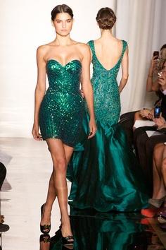 Evening Sherri Hill - Runway - Spring 2012 Mercedes-Benz Fashion Week