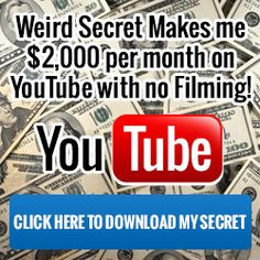 How to make money on You Tube How To Get Money Fast, Make Money From Home, Youtube Money, To Youtube, Youtube Hacks, Youtube Secrets, Youtube Advertising, Youtube Editing, Earn Money Online