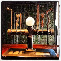 Cool tap handles