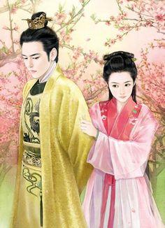 古风海报 中国风 古典风格 游戏手绘 插...