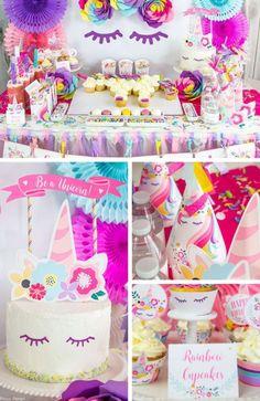 644 Amazing Baby Shower Unicorn Theme Images In 2019 Unicorn Party