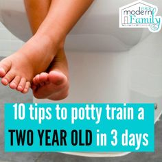 My dear friend is about to start Potty training a 2 year old. She is nervous, so she called to ask for my best tips. (We trained all 4 of our kids just before they turned two and we did it in a weekend.)  Here are the tips that I gave her & some...