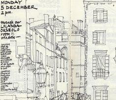 Sketchbook homework assignment : out my window