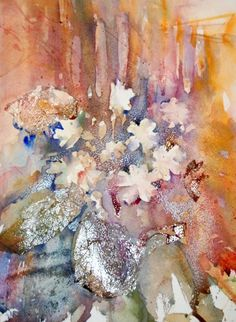 Рисунки цветов акварелью от Jean Haines