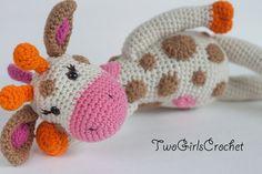 Crochet Pattern Giraffe Amigurumi PATTERN ONLY by TwoGirlsCrochet, $6.00