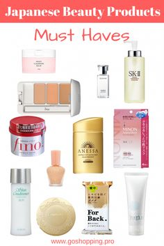 Japanese Beauty Products Must Haves-Japanese Skin Care