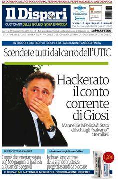La copertina del 16 ottobre 2016  #ischia  #ildispari