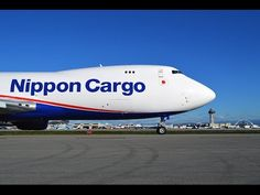 Nippon Cargo Airlines Boeing 747-8KZ(F) [JA13KZ] CLOSE UP Takeoff - YouTube