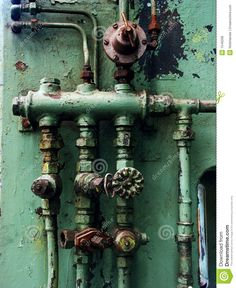 Rusty Pipes And Valves Royalty Free Stock Photos - Image: 1549208