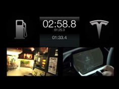 Tesla Model S - Battery Swap Video with Elon Musk CEO of Tesla - only 90 seconds... less time than filling your car with gas.   Elon may be the next Steve Jobs.... What do you think?