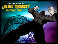 LO CHIAMAVANO JEEG ROBOT – TRIBUTE ARTWORK