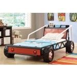 Coaster Furniture - Twin Size Race Car Bed - 400700