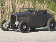 1932 Ford Roadster, Steel grey