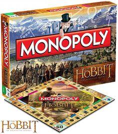 The Hobbit Monopoly - Jogo Monopólio do Filme O Hobbit