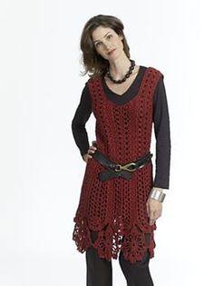 Free Crochet Dress Pattern crochet Pinterest Crochet ...