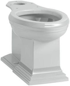 Kohler K-5626 Memoirs Elongated Comfort Height Toilet Bowl - Less Tank and Seat