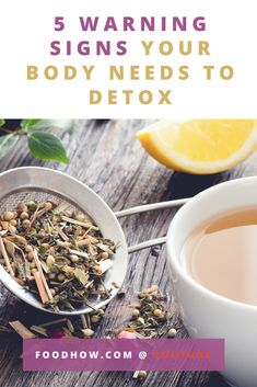 Signs You Need To Do A Detox - How to know if your body needs a detox? It's tricky but there are some sure signs you should not ignore...  #detox #foodhow