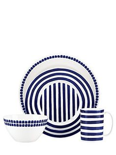 image of kate spade new york Charlotte Street North Dinnerware Collection  sc 1 st  Pinterest & Kate Spade Charlotte Street Collection Dinnerware   Registry ...
