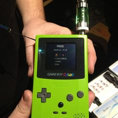 Awesome coston mod, fully functional game boy color. #vape #awesome #Padgram