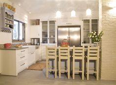 מטבחים מעוצב בדירת גן - פשטות מטבחים